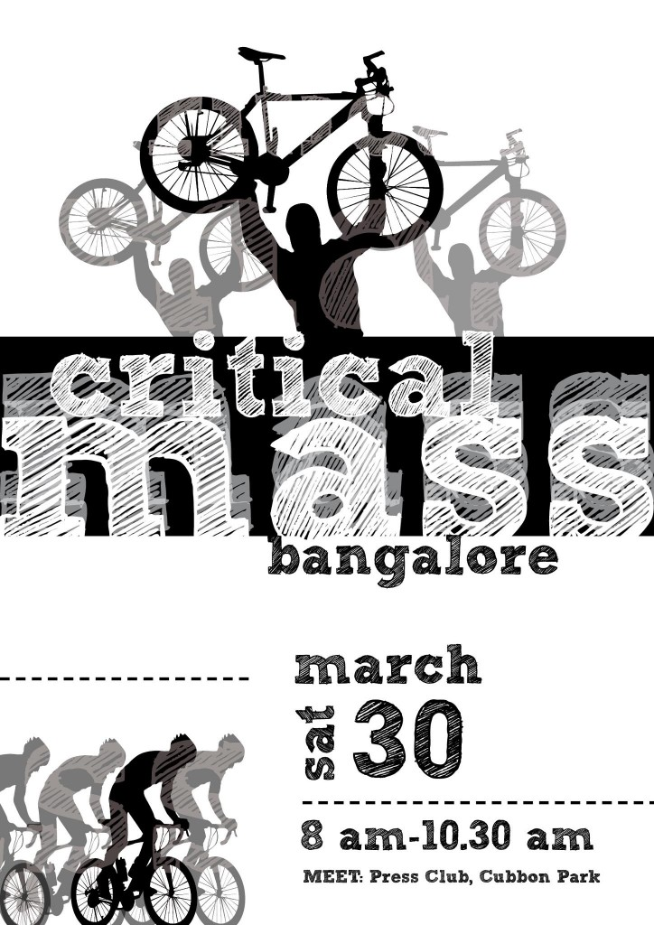 critical mass Bangalore/India - last saturday of every month