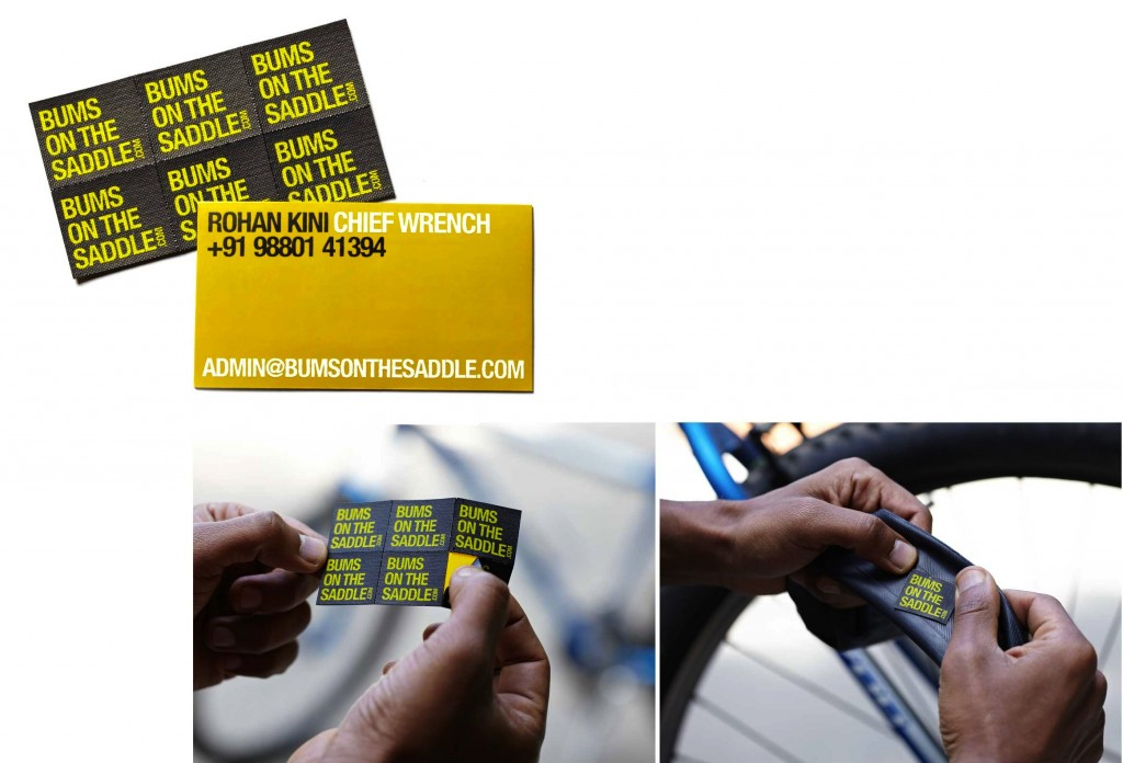 bumsonthesaddle visiting cards