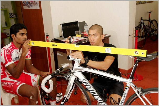Vijay - Specialized body geometry bike fit