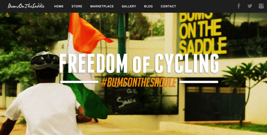 Cycling is freedom - bumsonthesaddle cycling in Bangalore and India