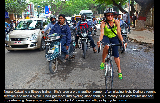 Cycling tribes in Bangalore