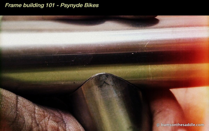 bicycle frame building in India/Bangalore at BumsOnTheSaddle | Psynyde bikes