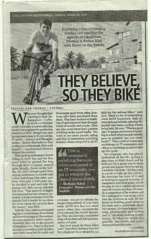 BOTS Media - They believe - so they bike