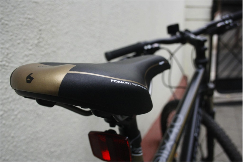 Bergamont helix 4.0 saddle