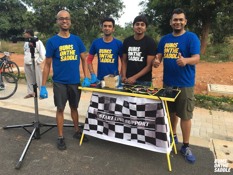 The best bicycle mechanics providing road cycling event support from BUMSONTHESADDLE
