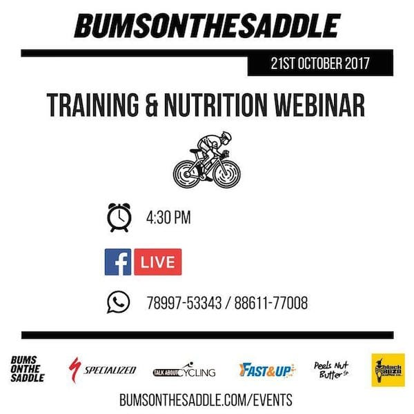 Hydration, Nutrition and Training Basics for Cyclists from BUMSONTHESADDLE