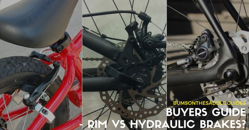 Buyers Guide - About Bicycle Brakes - rim vs disc brakes